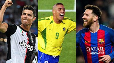 ''İleri üçlüyle futbol tarihine adını yazdırmış Lionel Messi, Cirstiano Ronaldo ve Ronaldo'yu yazıyorum. Bu üçlü her savunmayı zor durumda bırakır''