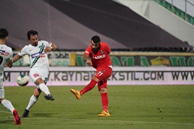 Süper Lig'in 30. hafta açılış maçında son sırada yer alan Denizlispor, sahasında Gaziantep FK'yı ağırladı.