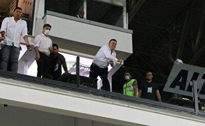 İşte Denizlispor Başkanı Ali Çetin'in çılgına döndüğü o anlar