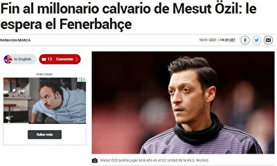 """Marca: """"Mesut'un çilesi bitti ve Fenerbahçe'ye transfer oldu"""""""