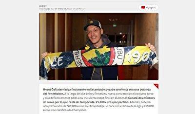 """Mundo Deportivo: """"Mesut Özil için görkemli bir imza töreni düzenlenecek"""""""