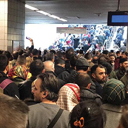 İstanbulda metrolar durdu