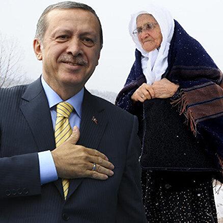 Erdoğan misafir etti