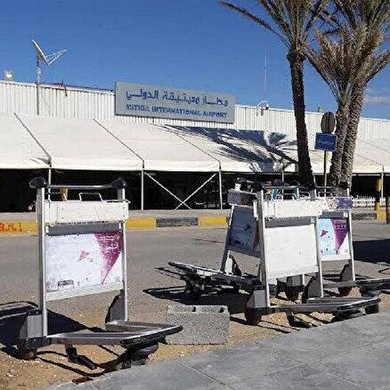 HafterMitiga Havalimanını füzeyle vurdu