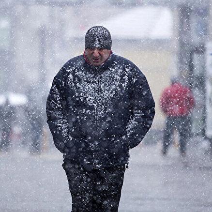 İstanbula kar uyarısı