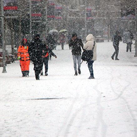 7 il için buzlanma ve don uyarısı