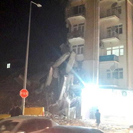 Elazığda deprem:18 kişi hayatını kaybetti