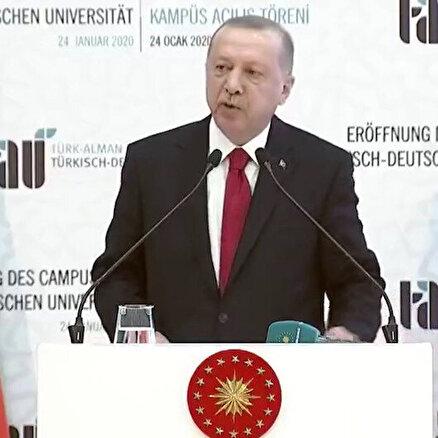 Türk-Alman Üniversitesiiki ülke dostluğunun bir simgesi