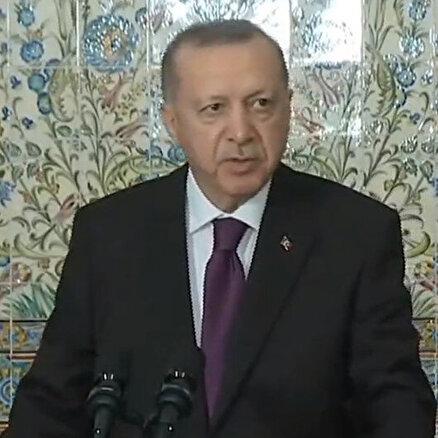 Cumhurbaşkanı Erdoğan Cezayirde