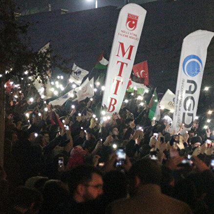 Türkiye Kudüs için sokakta