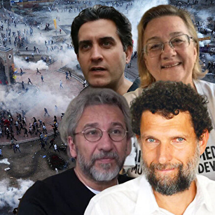 Gezi davasından beraat ettiler