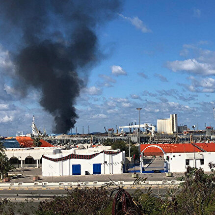 Hafterden Trablus Limanına roketli saldırı