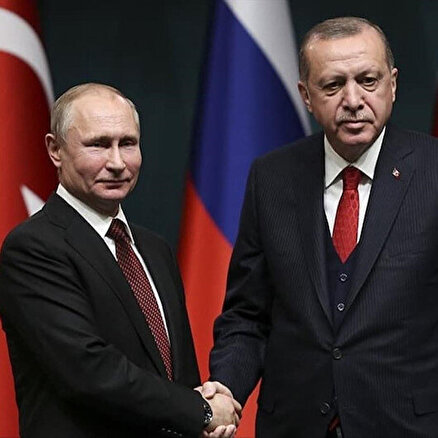 Erdoğan ve Putin İdlibi görüştü
