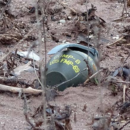 Balıkçılar el bombalarını buldu
