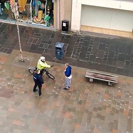 İskoç polisi acımadı