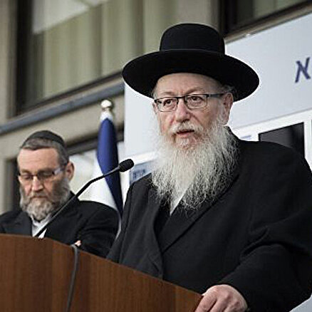İsrail siyasetinde koronavirüs!