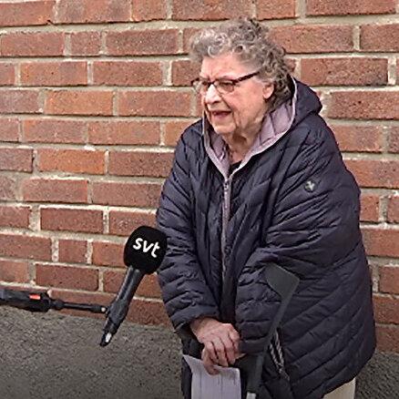 92 yaşındaki İsveç vatandaşı kadın poşetlerinin taşınması için 370 kron ödemek zorunda