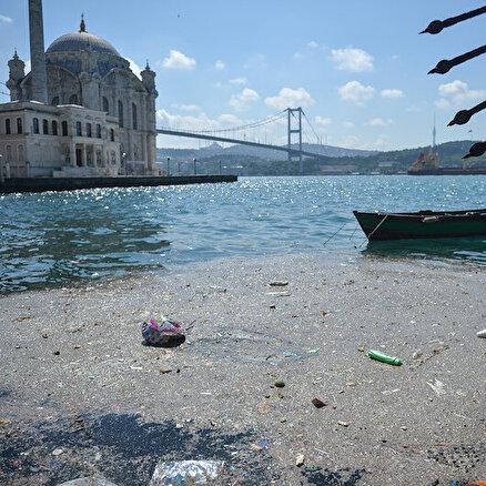 Beşiktaş Sahili çöplüğe döndü