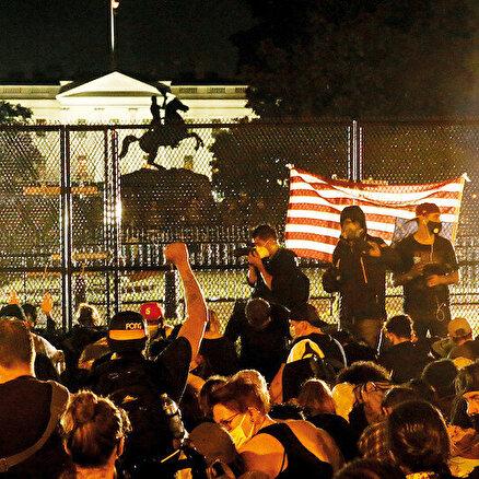 Eylemlerin hedefi Beyaz Saray