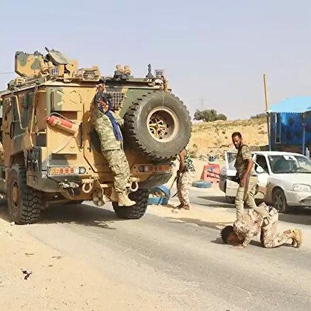 Libyada sıcak saatler
