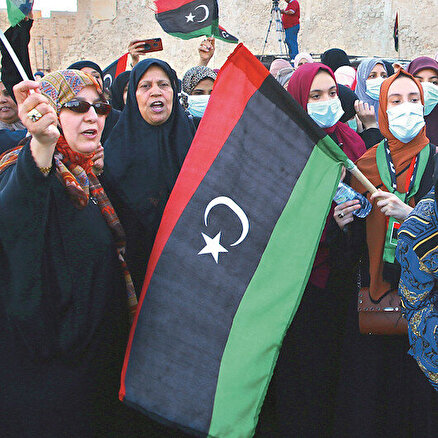 Libyada zafer coşkusu