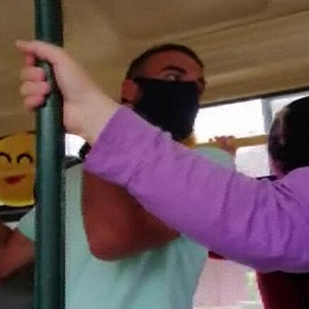 Maske takmam dedi cezayı yedi