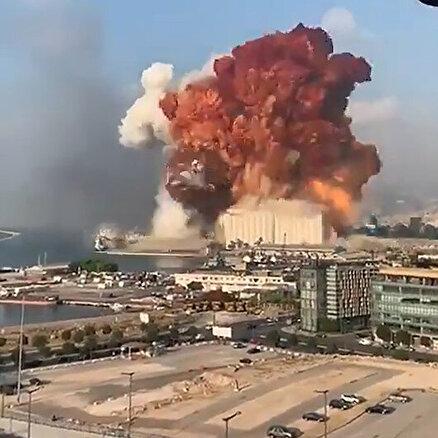 Patlamanın korkutan şiddeti!