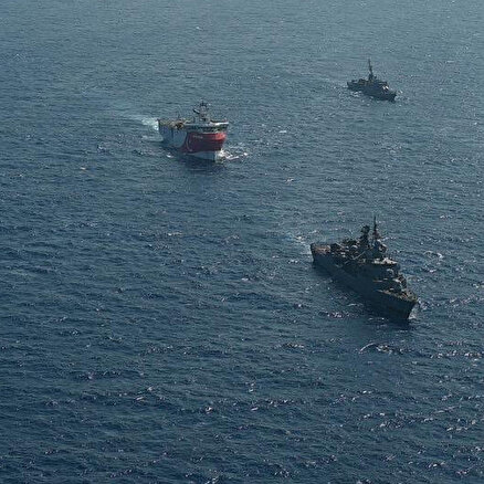 Yunanistanı korkutan hamle: Türk savaş gemileri Akdenizde