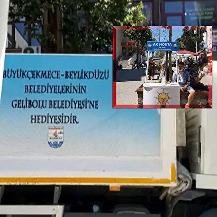 CHPnin çöp siyaseti