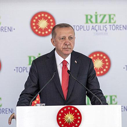 Erdoğandan önemli mesajlar