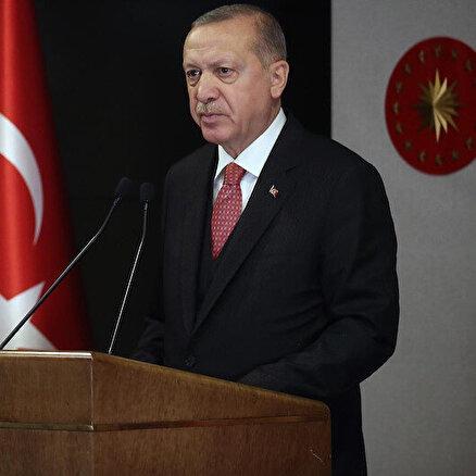 Erdoğandan net mesaj