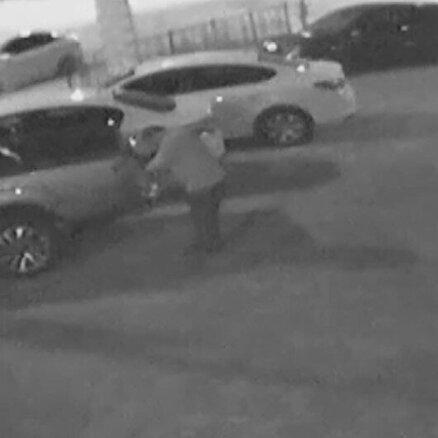 Far hırsızlığı kamerada