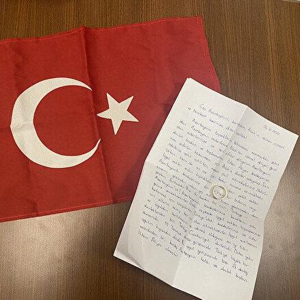 Azerbaycana nişan yüzüğünü gönderdi