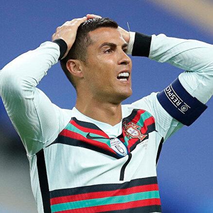 Ronaldonun testi pozitif