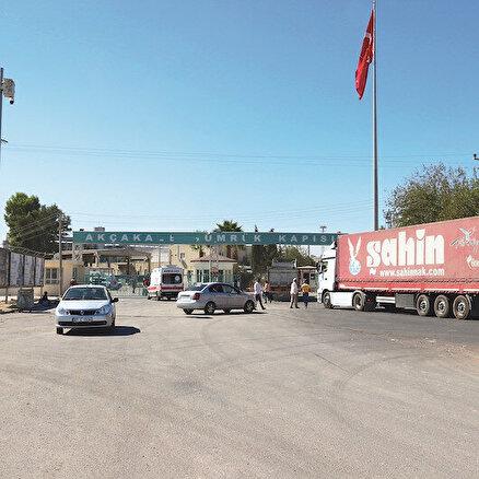 Suriye sınırına ticaret merkezi