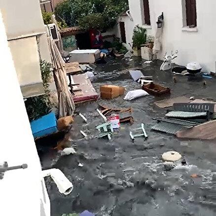 İzmirde ürküten görüntü