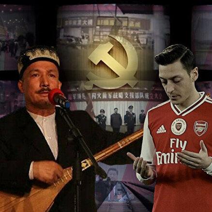 Mesut Özile bunu yapan Uygurlara ne yapmamıştır?
