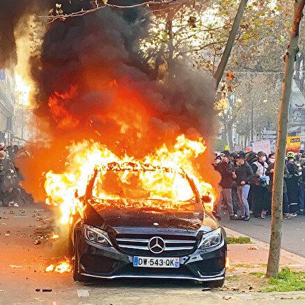 Paris'i yakan öfke