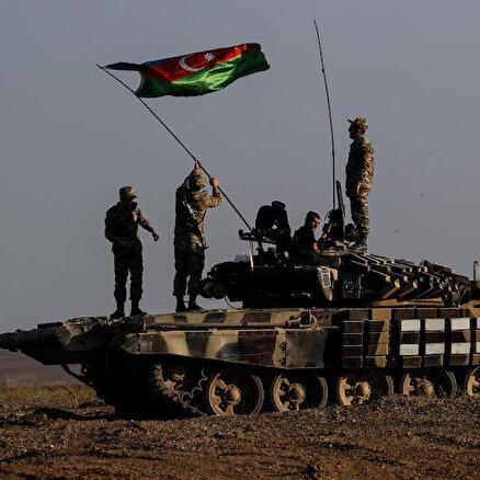 Azerbaycan ordusu Laçına girdi