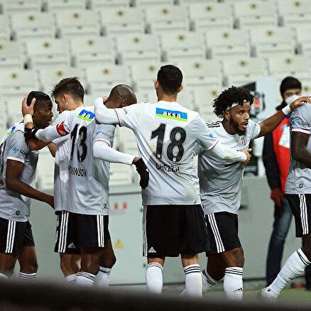 Beşiktaş üçte üç yaptı