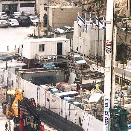 İsrail Aksa'nın altını oyuyor