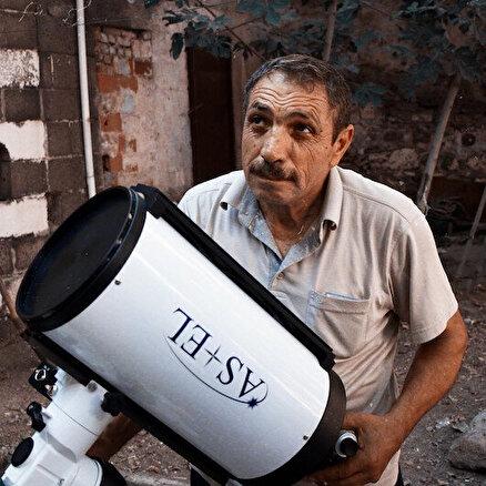 Diyarbakırlı astronomunuzay tutkusu