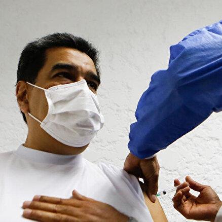 MaduroRus aşısı oldu