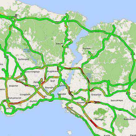 Harita yeşile döndü