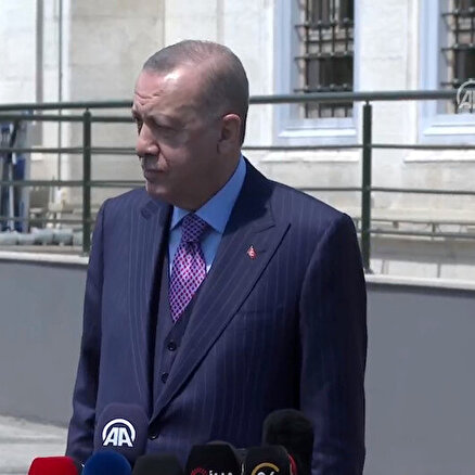 Erdoğan konuşuyor
