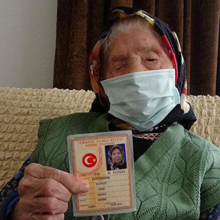 Trabzonun en yaşlı annesi