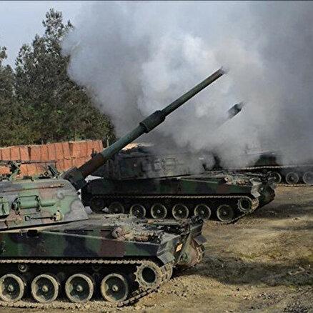 PKKya ait hedefler yerle bir edildi