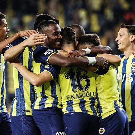 Kadıköyde kazanan Fenerbahçe
