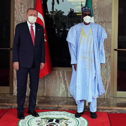 Cumhurbaşkanı Nijeryada