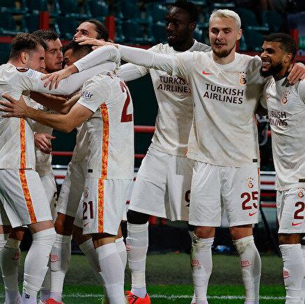 Avrupada lider Galatasaray